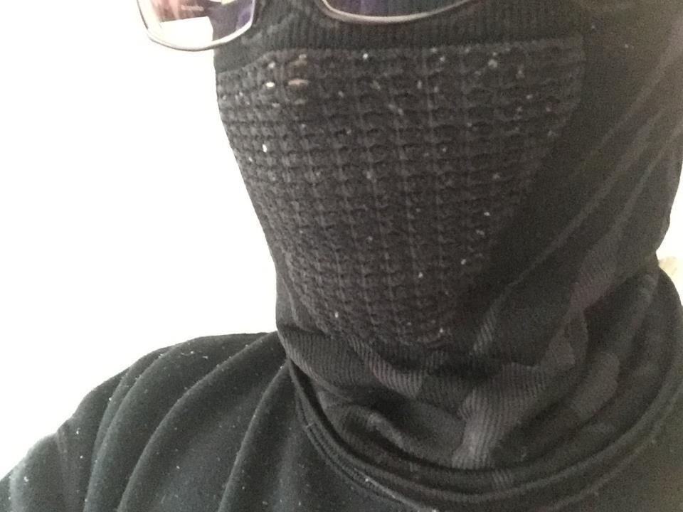 【レビュー】すごくおすすめ。ネックウォーマー・フェイスマスクで首と口と鼻と耳すべてを暖かくしよう。