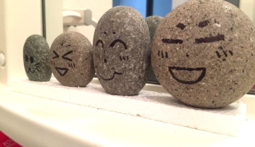 【石磨き】河原の石を耐水サンドペーパーで磨いてみたら…。
